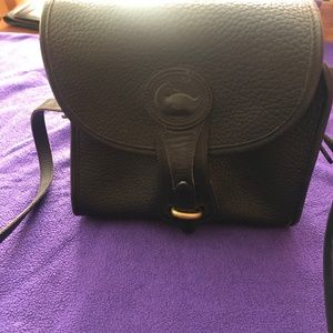 Dooney & Bourke Saddle Bag Pocket Back